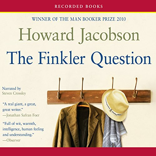 Finkler Question audiobook cover art