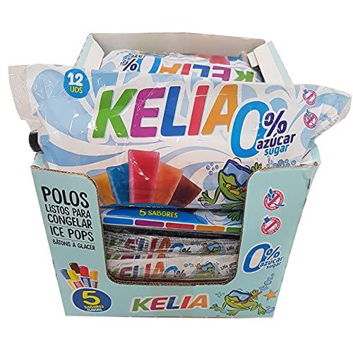 Kelia Sin Azúcar - Display de 15 Bolsas - 180 Unidades