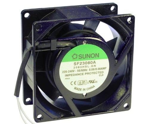 80 x 38 mm ventilador Sunon SF23080A2083HSL AC 230 V 2300 U/min cojinete