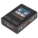 Lipo-Ladegerät, 6-in-1-Ladegerät für Waage 1S LiPO/LiHv-Ladegerät mit Micro MCX JST MCPX...