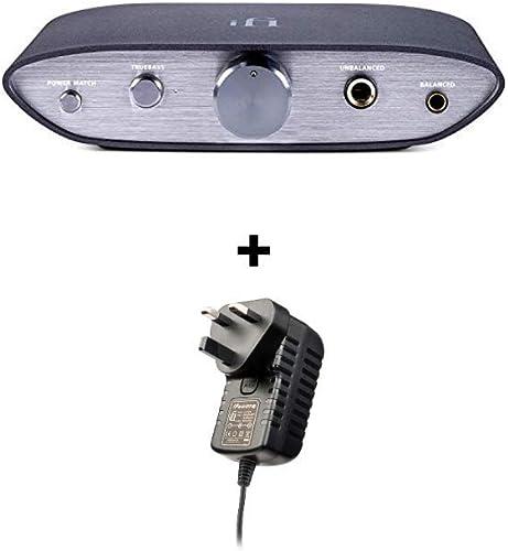 iFi Zen DAC - HiFi Desktop Digital Analog Converter with USB3.0 B Input/Outputs: 6.3mm Unbalanced / 4.4mm Balanced/RC...