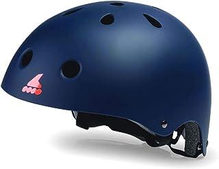 ROLLERBLADE(ローラーブレード) インライン ジュニア ヘルメット 2020 RB JR HELMET ミッドナイトブルー×オレンジ 子供用 060H0110847 ROLLERBLADE 【C1】