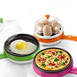 OBIXO 2 in 1 Multifunctional Non-Stick Electric Frying Pan with Capacity of 7
