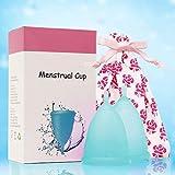 FXNB Copas Menstruales para Mujeres Principiantes, Silicona Médica Flexible Y Reutilizable, Set para Copas Menstruales Sensibles, Copa Menstrual Reutilizable, Cómoda