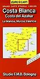 Costa Blanca e del Azahar 1:300.000 (Euro Cart)