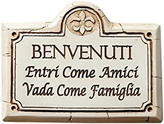 Italian Welcome Sign Benvenuti