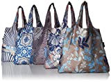 Envirosax Mallorca Pouch, Set of 5 Shopping Reusable Grocery Bags, Multicolored