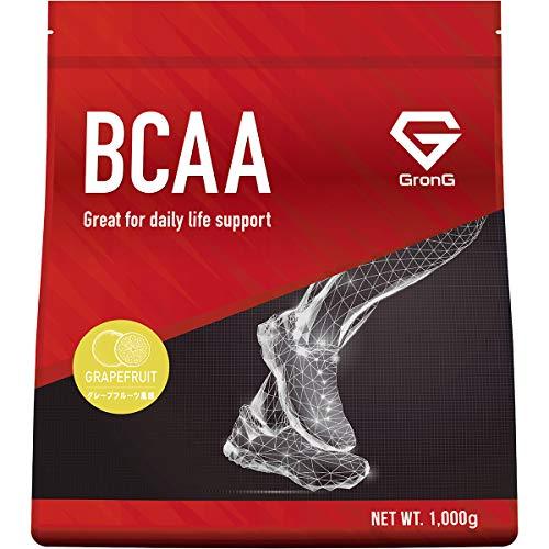 グロング BCAA アミノ酸 グレープフルーツ風味 1kg (100食分) 含有率84% 国産
