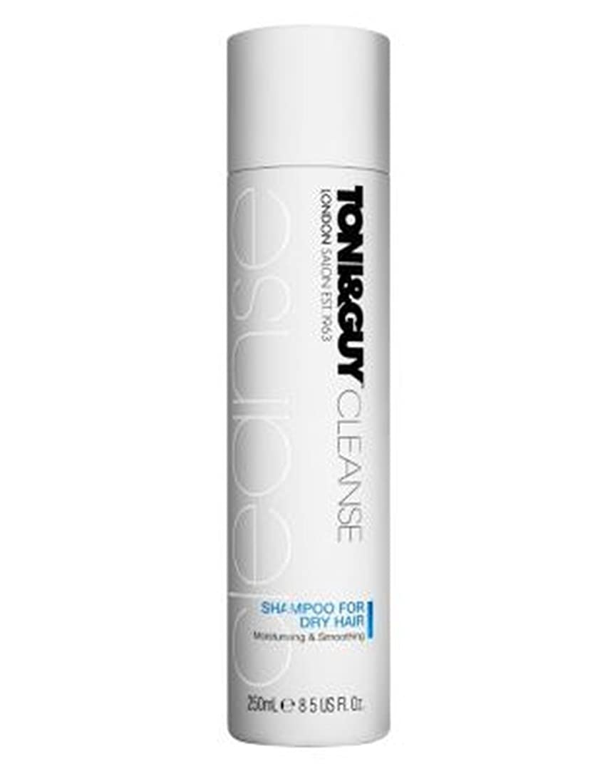 不愉快にご近所戸惑うToni&Guy Cleanse Shampoo for Dry Hair 250ml - 乾いた髪の250ミリリットルのためのトニ&男クレンジングシャンプー (Toni & Guy) [並行輸入品]