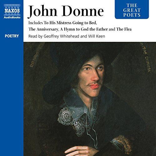 The Great Poets: John Donne audiobook cover art