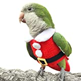 HEZHUO Ropa para pájaros, pañales, loros, pájaros, trajes de vuelo, pañales reutilizables e impermeables para mascotas (2XL)