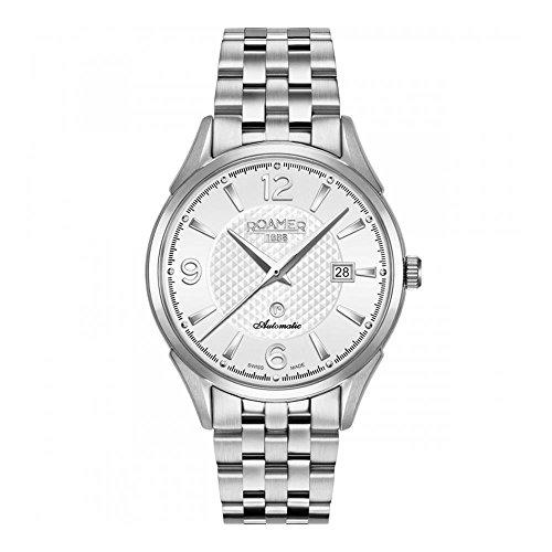 Roamer della Svizzera orologio da uomo 55066041245041mm in acciaio caso automatico