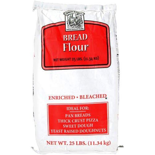 Bakers & Chefs Bread Flour - 25 lb. bag