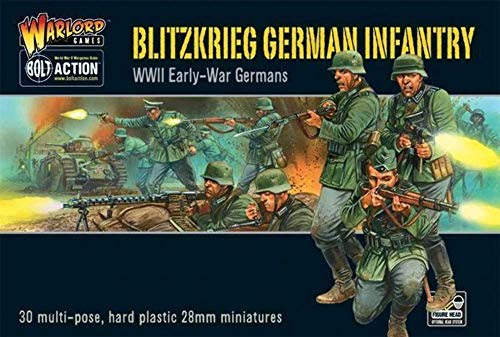 Warlord Games Bolt Action World War 2 Blitzkrieg German Infantry Army Soldiers by Warlord Games