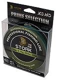 Stork HDx8, 8-Fach geflochtene Premium Angelschnur 300m (Moosgrün, 65 lbs / 29.5 kg / 0.37 mm)