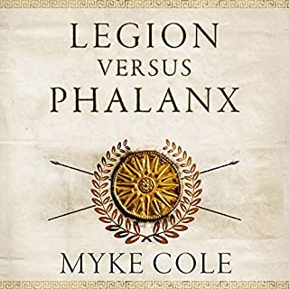 Legion versus Phalanx audiobook cover art