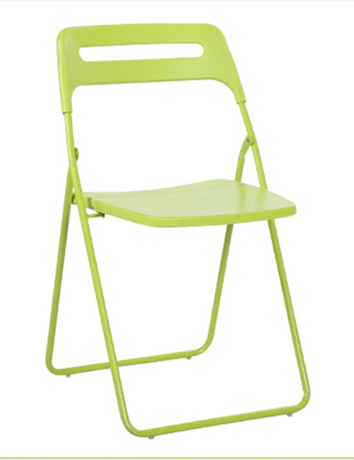 LHA Barstools Folding Chair Home Student Dormitory Simple Folding Chair Plastic Portable Office Back Chair Simple Nordic Dining Chair Bar Furniture (color   C)
