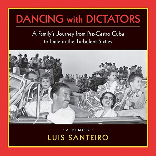 """Dancing with Dictators"" audiobook cover art"