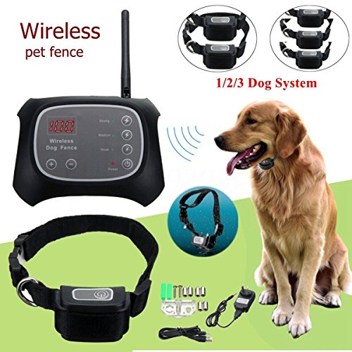 TDC Wireless Electric Pet Dog Fence Containment System