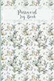 Password Log Book: Alphabetical Tabs Organize and Protect your Personal Security Userenames Email Internet Login Details Notebook Never Forget a Password Watercolor Nature Design