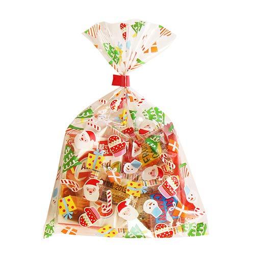 クリスマス袋 110円 お菓子 詰め合わせ(Dセット) 駄菓子 袋詰め おかしのマーチ