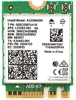 Intel インテル AX200 NGW 802.11ax (2,400Mbps) Wi-Fi 6 MU-MIMO & Bluetooth5 (M.2 WiFiカード)