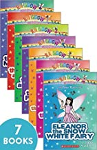 Rainbow Magic The Fairy Tale Fairies (books 1-7 including 1-Julia, 2-Eleanor, 3-Faith, 4-Rita, 5-Gwen, 6-Aisha, 7-Lacey