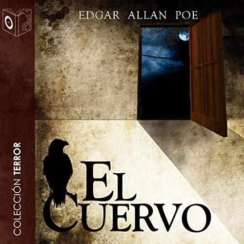 Diseño de la portada del título El cuervo