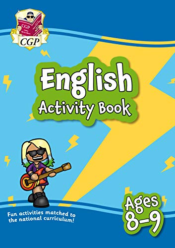 New English Activity Book for Ages 8-9: Perfect for Catch-Up and Home...