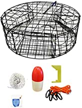 KUFA Vinyl Coated Round Crab Trap Accessory Kit (100' Non-Lead Sinking Line, Clipper, Bait Bag 14