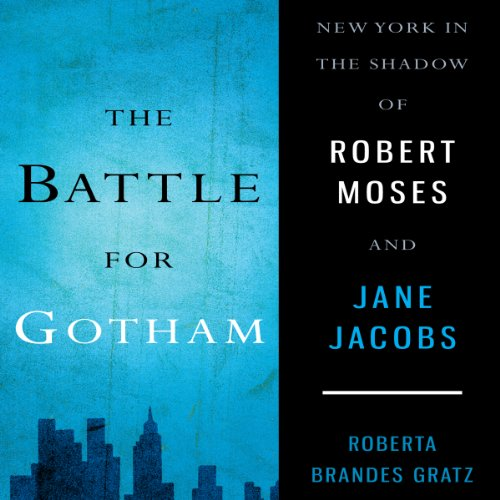 The Battle for Gotham audiobook cover art