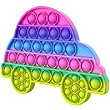 Pop It Fidget Toy - Anti Stress Spielzeug I Poppets Bubble Toy gegen Stress und Langweile und für den Spaß (Auto)