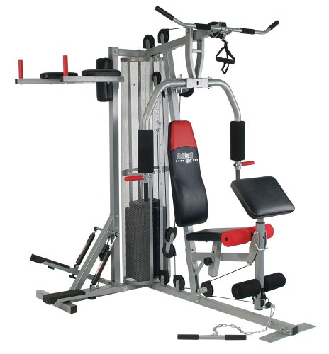 Christopeit Fitness-Station Profi Center, Silber, 9988