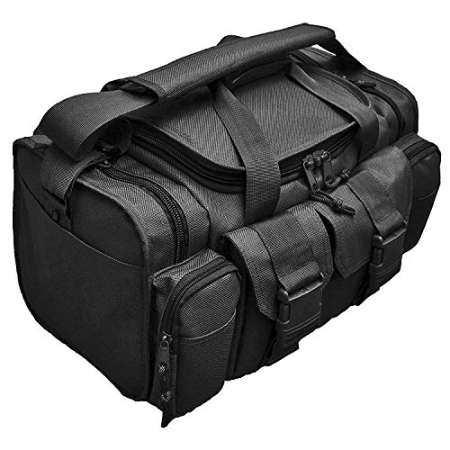 Johnson Tactical Shooting Gun Pistol Range Gear Bag (Black) R23-BLK