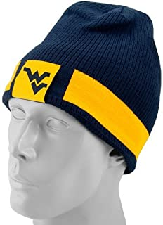 Nike West Virginia Mountaineers Navy Blue/Gold Reversible Knit Beanie