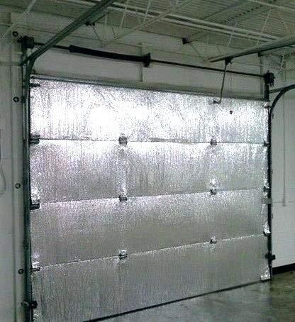 GARAGE DOOR INSULATION KIT, 8'x8'. DIY KIT. REFLECTIVE INSULATION