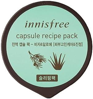 Innisfree Capsule Recipe Pack - Bija and Aloe, 10ml