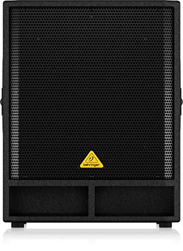 Behringer Eurolive VP1800S 46 cm (18 Zoll) PA-Subwoofer (1800 Watt) schwarz
