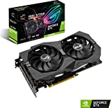 ASUS ROG Strix GeForce GTX 1660 Super Advanced 6GB Edition GDDR6 HDMI 2.0 DP 1.4 Gaming Graphics Card (ROG-STRIX-GTX1660S-A6G-GAMING)