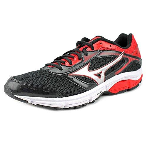 Mizuno Wave Impetus 4 Men US 9 Black Running Shoe