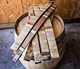 "Authentic Red Wine Barrel Staves - Set of 10 (3"" and wider)"