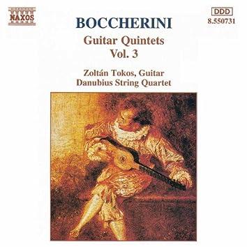 Boccherini: Guitar Quintets, Vol.  3