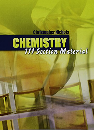 Chemistry 111 Section Material
