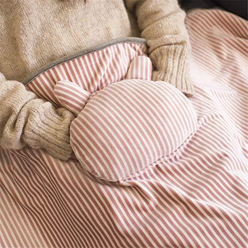 Kuschelheizdecke, USB-Heizdecke 5V Wärmedecke Waschbar Leicht Zu Tragende Allzweck-Heizdecke,elektrische Decke Mit Tasche,für Händ Für Kinder Und Erwachsene 72 * 115cm (Rosa)