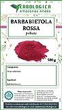 Polvere di Barbabietola rossa 500 grammi, con barbabietola in polvere ottima fonte di vitamine e di...