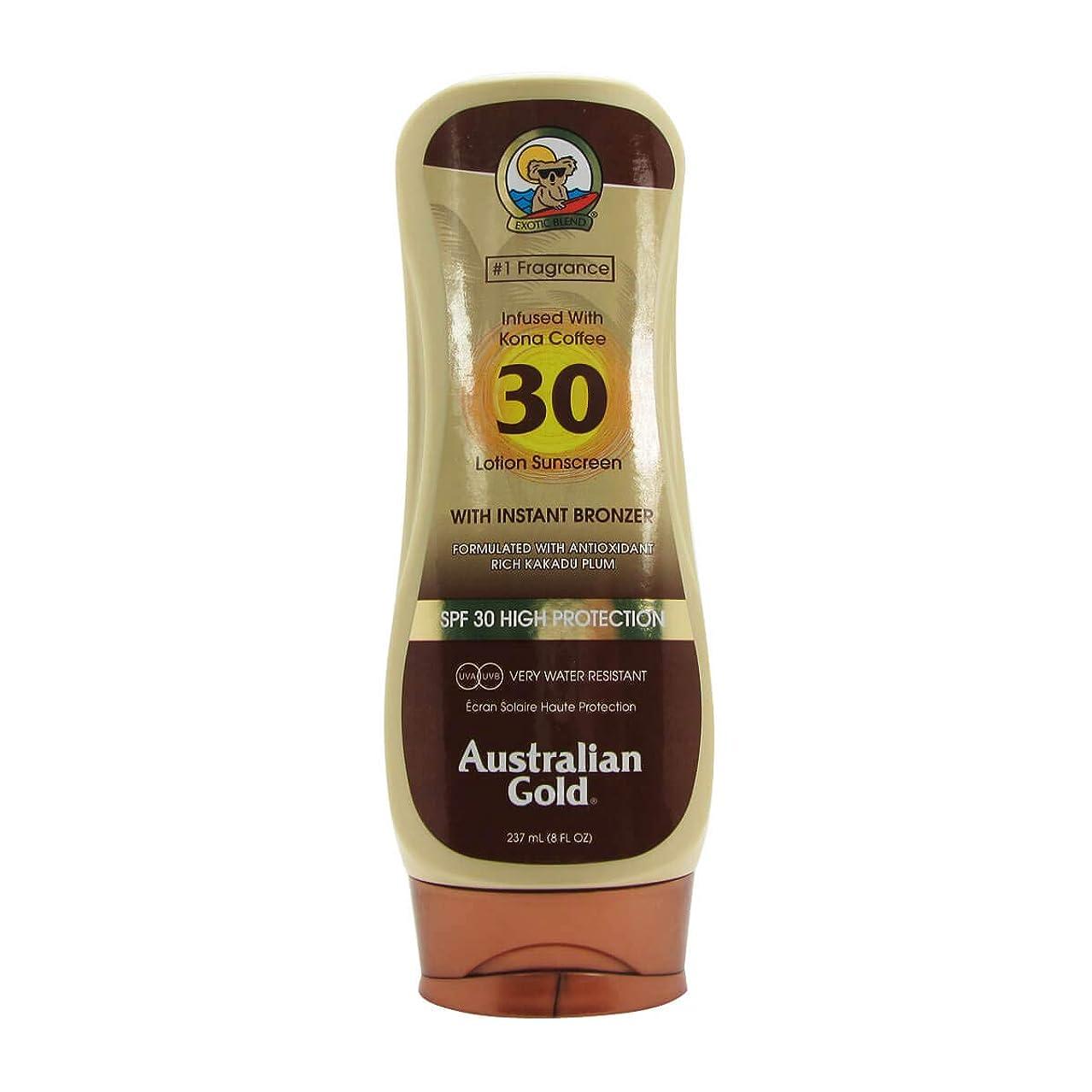 国民反逆者料理オーストラリアンゴールドローションSPF30インスタントブロンザー237ml