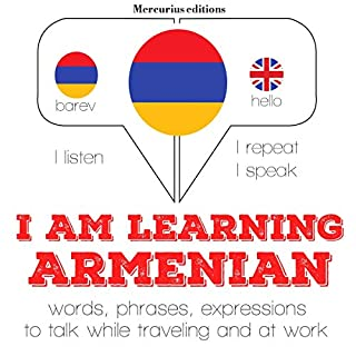 I am learning Armenian cover art