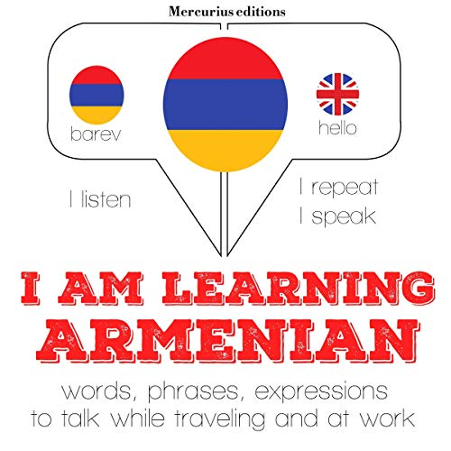 I am learning Armenian audiobook cover art