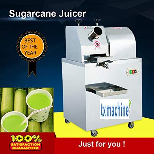 TX® 350KG/H 1100W Centrifugal Juicers vertical sugarcane machine sugar cane juice machine 3-rollders adjustable cane-juice squeezer,cane crusher,Sugar cane juicer (220V/50HZ)