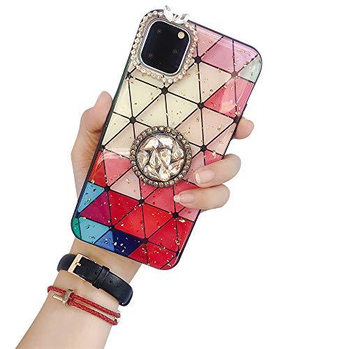 Schutzhülle für Samsung Note 10, Aulzaju Galaxy Note 10, Glitzersteinchen, TPU, glänzend, stoßfest samsung galaxy s20 ultra rot